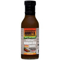 Aubrey D. Classic Habanero BBQ with Datil Peppers