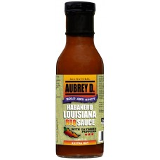 Aubrey D. Habanero Lousiana BBQ Sauce with Cayenne Peppers