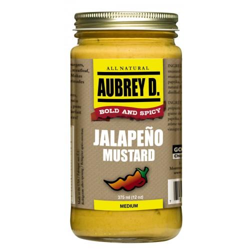 Aubrey D. Jalapeño Mustard