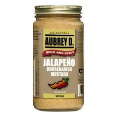 Aubrey D. Jalapeño Horseradish Mustard
